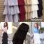 เสื้อผ้าแฟชั่นพร้อมส่ง กระโปรง 3ชั้นอัดพลีท ดีไซน์น่ารักมาก thumbnail 2