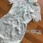 ชุดเดรสเกาหลี พร้อมส่งเดรสผ้าลูกไม้สีเขียวมิ้นท์สไตล์เปรี้ยวอมหวาน thumbnail 12