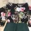 เสื้อผ้าเกาหลีพร้อมส่ง imited edition flower playsuit thumbnail 8