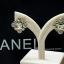 พร้อมส่ง ต่างหู Chanel งานเพชร CZ แท้ เพชรคัดเกรด 6A thumbnail 2