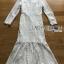 ชุดเดรสเกาหลี พร้อมส่งเดรสผ้าลูกไม้สีขาวตกแต่งระบายสุดหรู thumbnail 10