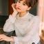 เสื้อผ้าเกาหลี พร้อมส่งเสื้อขาวทรงน่ารักๆ thumbnail 1