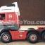 โมเดลรถหัวลาก Volvo FH Low loader Chris Bennett สเกล 1:50 by Cararama thumbnail 7