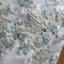 ชุดเดรสเกาหลี พร้อมส่งมิมิเดรสแขนกุดผ้าทูลล์ปักลายดอกไม้สีพาสเทล thumbnail 10