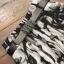 เสื้อผ้าเกาหลี พร้อมส่ง Zara White Top + Black Tiger Line Set thumbnail 13