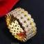พร้อมส่ง Diamond Bracelet & Ring สร้อยข้อมือและแหวนเพชรงาน 3 กษัตริย์เ thumbnail 4