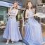 Alice Hollow lace Sleeveless Maxi Dress thumbnail 1
