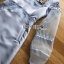 ชุดเดรสเกาหลี พร้อมส่งเดรสผ้าซิลค์ตกแต่งออร์แกนซ่าและลูกไม้สีฟ้าอ่อน thumbnail 10