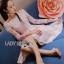 ชุดเดรสเกาหลี พร้อมส่งเดรสทรงเปิดไหล่ผ้าลูกไม้สีขาวทับผ้าสีชมพูโอลโรส thumbnail 4