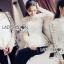 เสื้อผ้าเกาหลี พร้อมส่งเสื้อผ้าลูกไม้สีขาวทรงคอสูงแขนยาวตกแต่งระบาย thumbnail 4