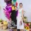 Tohn brand luxury lace maxi dress thumbnail 1