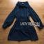 เสื้อผ้าเกาหลี พร้อมส่งเชิ้ตเดรสคัทเอาท์ไหล่ตกแต่งกระดุม thumbnail 10