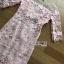 ชุดเดรสเกาหลี พร้อมส่งเดรสผ้าลูกไม้สีพาสเทลตกแต่งออร์แกนซ่า thumbnail 18