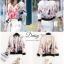 เสื้อผ้าเกาหล ีพร้อมส่งZara jacket เสื้อแจคเกทงานแบรนด์ Zara ผ้าซาตินซิลเนื้อดี thumbnail 3