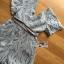เสื้อผ้าเกาหลี พร้อมส่งจัมป์สูทขาสั้นผ้าลูกไม้ลายขนนกพร้อมริบบิ้นผ้าซาติน thumbnail 14