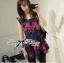 Colourful Embroidered Mini Dress thumbnail 3