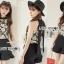 เสื้อผ้าเกาหลี พร้อมส่งLady Emily Floral Printout set thumbnail 7