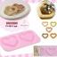 ซิลิโคนพิมพ์เค้ก ขนมปัง วุ้น ช็อคโกแลต รูปหัวใจ (เกรดญ๊่ปุ่น) thumbnail 1