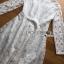 ชุดเดรสเกาหลี พร้อมส่ง เดรสผ้าลูกไม้ติดกระดุมสุดหรู thumbnail 14