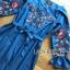 ชุดเดรสเกาหลี พร้อมส่งเดรสผ้าเดนิมบางปักลายดอกไม้สไตล์สาวคันทรี thumbnail 10