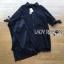 เสื้อผ้าเกาหลี พร้อมส่งเชิ้ตเดรสผ้าลูกไม้สีขาวประดับโบที่แขนเสื้อสไตล์มินิมัลสุดหวาน thumbnail 13