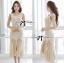 ( พร้อมส่งเสื้อผ้าเกาหลี) เดรสแขนกุดประดับผ้าชีฟองสุดเปรี้ยว ช่วงบนของชุดเป็นแขนกุดผ้ายืดทรงบอดี้คอนนะคะ ส่วนช่วงปลายเป็นผ้าชีฟองเนื้อโปร่งจับระบายพลิ้ว ดูเปรี้ยวด้วยด้ายหลังเว้าหลัง thumbnail 2
