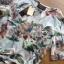 เสื้อผ้าเกาหลี พร้อมส่งเซ็ตเสื้อพิมพ์ลายดอกไม้สไตล์วินเทจและกางเกงทรง culottes ลุคนี้มาแบบเข้าชุด thumbnail 12