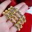 พร้อมส่ง Gold Bangle กำไลข้อมือข้อเท้าเด็กน้อย thumbnail 1