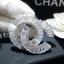 พร้อมส่ง Chanel Brooch เข็มกลัดชาแนล เพชรซีกประดับด้วยเพชรกลมเล็ก thumbnail 7