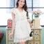 ชุดเดรสเกาหลี พร้อมส่งLuxury Lace Pricess Dress thumbnail 7