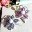 พร้อมส่งเข็มกลัดไพลิน&ทัมทิม ทรงดอกไม้ประดับมุก thumbnail 1