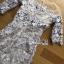 ชุดเดรสเกาหลี พร้อมส่งเดรสผ้าลูกไม้สีพาสเทลตกแต่งออร์แกนซ่า thumbnail 16