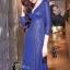 ชุดเดรสเกาหลี พร้อมส่งlong dress คอวี แขนยาวปักเลื่อมทั้งตัว thumbnail 8