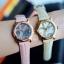 พร้อมส่ง Stuhrling Original Women's Vogue Audrey Isis Swiss Quartz Swarovski Crystal Date Pink Watch thumbnail 1