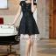 Furbelow Black Lady Dress thumbnail 6