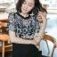 เสื้อผ้าเกาหลีพร้อมส่ง ทรงสวยดูไฮด้วยทรงจั้มสูทกางเกงขายาว thumbnail 4