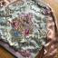 เสื้อผ้าเกาหลี พร้อมส่งบอมเบอร์แจ๊กเก็ตผ้าซาตินสีชมพูปักลายดอกไม้สไตล์สตรีท thumbnail 7