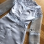 ชุดเดรสเกาหลี พร้อมส่งเดรสผ้าซิลค์ตกแต่งออร์แกนซ่าและลูกไม้สีฟ้าอ่อน thumbnail 9