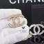 พร้อมส่ง Chanel Brooch สไตล์ Logo ตัว C ดีไซด์เก๋ไก๋ เพชร 2 ชั้น thumbnail 6