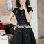 Furbelow Black Lady Dress thumbnail 2
