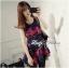 Colourful Embroidered Mini Dress thumbnail 7