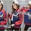 เสื้อผ้าเกาหลี พร้อมส่งบอมเบอร์แจ๊คเก็ตผ้าซาตินปักลายสีสดใส thumbnail 4
