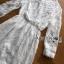 ชุดเดรสเกาหลี พร้อมส่งเดรสผ้าลูกไม้สีขาวสไตล์ลำลอง thumbnail 9