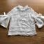 เสื้อผ้าเกาหลี พร้อมส่งเสื้อผ้าลูกไม้ตกแต่งระบายที่คอแขนเสื้อตกแต่งริบบิ้น thumbnail 11