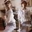 เสื้อผ้าเกาหลี พร้อมส่งเสื้อผ้าคอตตอนปักลายดอกกุหลาบสไตล์วินเทจ thumbnail 10