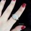 พร้อมส่ง Diamond Ring งานเพชรสวิส งานชุบ 5 ไมครอน thumbnail 5