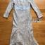 ชุดเดรสเกาหลี พร้อมส่งเดรสผ้าลูกไม้สีฟ้าไลแล็กทรงเมอร์เมด thumbnail 7