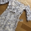 ชุดเดรสเกาหลี พร้อมส่งเดรสผ้าลูกไม้สีพาสเทลตกแต่งออร์แกนซ่า thumbnail 14