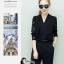 เสื้อผ้าเกาหลี พร้อมส่ง Lace Arms Elegant Jumpsuit thumbnail 3