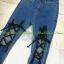 เสื้อผ้าแฟชั่นพร้อมส่ง กางเกงยีนส์ ผ้ายืด สุดเท่ย์ thumbnail 3